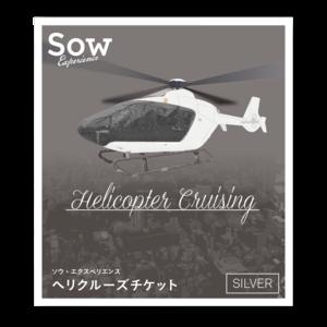 ヘリクルーズチケット SILVER