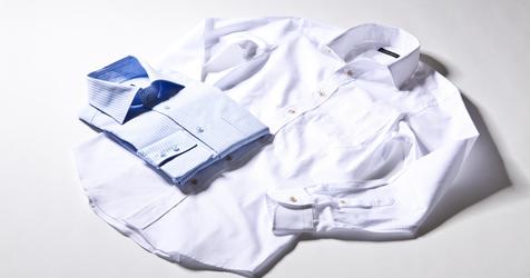 麻布テーラーのパターンオーダーシャツ