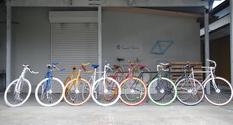 組み合わせは無数にあり、自分だけの好みの自転車を注文できます